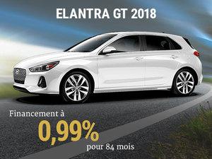Roulez en Hyundai Elantra GT 2018 sur 84 mois chez Hyundai Trois-Rivières à Trois-Rivières