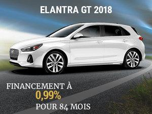 Roulez en Hyundai Elantra GT 2018 sur 84 mois chez Hyundai Shawinigan à Shawinigan