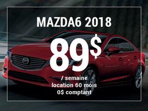 Roulez en Mazda6 GS 2018 à partir de 89$ / semaine chez Prestige Mazda à Shawinigan