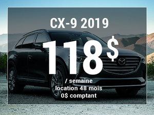 Un Mazda CX-9 2019 à partir de 118$ par semaine. chez Prestige Mazda à Shawinigan