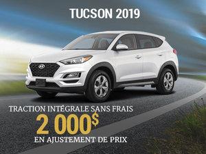 jusqu'à 2 000$ en ajustement de prix sur le tout nouveau Hyundai Tucson 2019 chez Hyundai Trois-Rivières à Trois-Rivières