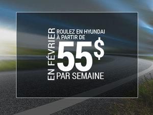 Roulez en Hyundai à partir de 55$ par semaine chez Hyundai Shawinigan à Shawinigan
