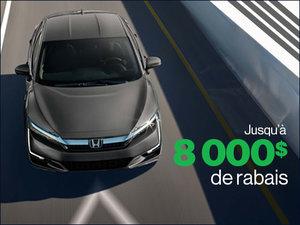 Clarity Hybride rechargeable 2019: roulez vert! chez Avantage Honda à Shawinigan