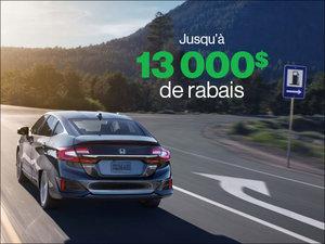 Jusqu'à 13 000$ de rabais sur la Clarity Hybride PLUG-IN 2019! chez Groupe Vincent à Shawinigan et Trois-Rivières