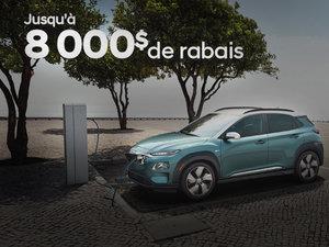 KONA EV 2019: roulez vert! chez Hyundai Trois-Rivières à Trois-Rivières