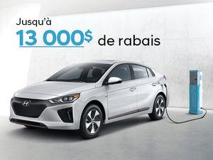 Jusqu'à 13 000$ de rabais sur la IONIQ électrique 2019! chez Hyundai Trois-Rivières à Trois-Rivières