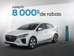 IONIQ électrique 2019: roulez vert! chez Hyundai Trois-Rivières à Trois-Rivières