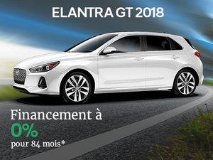 Financement 0% sur la Hyundai Elantra GT 2018 chez Hyundai Trois-Rivières à Trois-Rivières