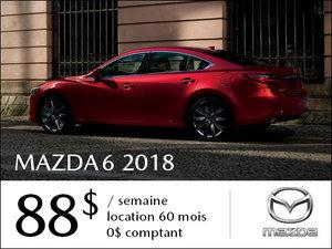 Roulez en Mazda6 GS 2018 à partir de 88$ / semaine chez Prestige Mazda à Shawinigan