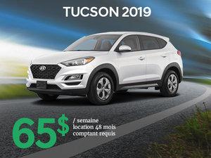 Roulez avec le tout nouveau Hyundai Tucson 2019 à partir de seulement 65$/sem. chez Hyundai Trois-Rivières à Trois-Rivières