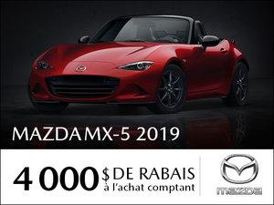 4 000$  de rabais sur un Mazda MX-5 2018 chez Prestige Mazda à Shawinigan