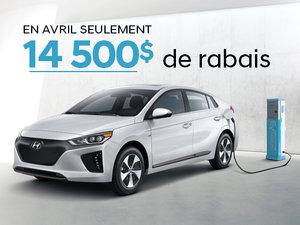 EN AVRIL SEULEMENT - 14 500$ de rabais sur la IONIQ électrique 2019! chez Hyundai Shawinigan à Shawinigan