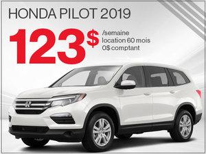 Le Honda Pilot 2019 à 123$ par semaine chez Avantage Honda à Shawinigan