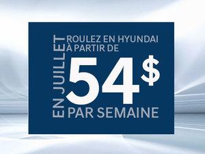 Roulez en Hyundai à partir de 54$ par semaine chez Hyundai Trois-Rivières à Trois-Rivières