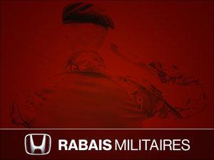 500$ DE RABAIS POUR LES MEMBRES DES FORCES ARMÉES chez Avantage Honda à Shawinigan