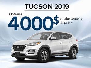 Jusqu'à 4 000$ en ajustement de prix sur le tout nouveau Hyundai Tucson 2019! chez Hyundai Trois-Rivières à Trois-Rivières
