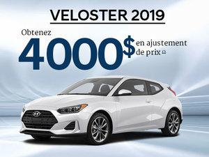 Jusqu'à 4 000$ en ajustement de prix sur TOUS les Veloster 2019! chez Hyundai Trois-Rivières à Trois-Rivières