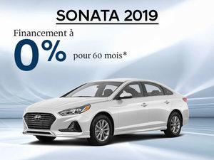 0% d'intérêt pour la Hyundai Sonata 2019 chez Hyundai Trois-Rivières à Trois-Rivières