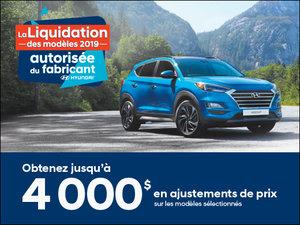 Jusqu'à 4 000$ en ajustement de prix! chez Hyundai Trois-Rivières à Trois-Rivières