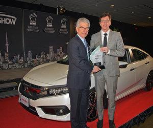 La Honda Civic 2016 nommée «Voiture canadienne de l'année»!