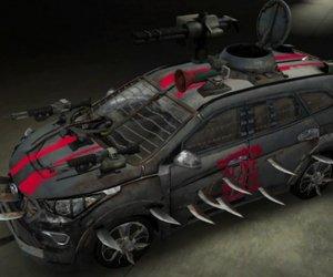 WOW ! Des voitures anti-zombies signées Hyundai!
