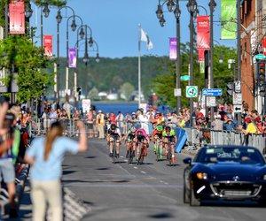 Groupe Vincent, fier de propulser l'équipe de Vélo Mauricie!