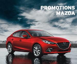 Économisez gros grâce à nos promotions Mazda!