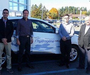 Un premier client pour le Hyundai Tucson FuelCell : l'Université du Québec à Trois-Rivières!