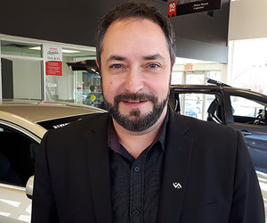 Ghyslain Gauthier : voitures, soleil et musique en tête!