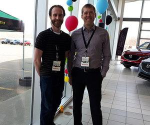 Prestige Mazda et le Centre Roland-Bertrand  unissent leur force pour la cause