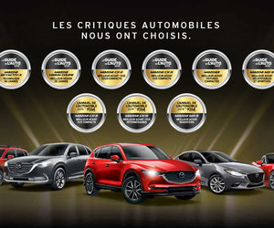 Véhicules Mazda récompensés par le Guide de l'auto