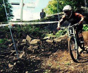 Groupe Vincent, fier commanditaire de la finale de la Coupe du Québec de descente en vélo de montagne!