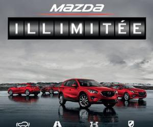 Mazda Canada annonce sa garantie kilométrage illimité sur tous les modèles 2015!