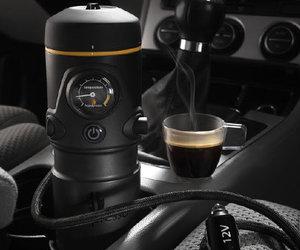 Un espresso dans l'auto? Maintenant possible!