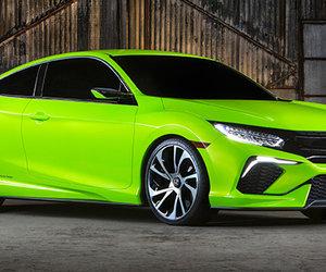 Le nouveau design de la Honda Civic 2016, 10e génération!