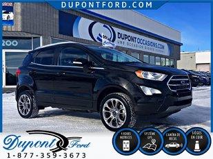 Ford ECOSPORT 4WD TITANIUM PNEUS HIVER SUR RIM INCLUS 2018