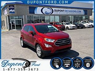 Ford ECOSPORT FWD SE - TAUX A PARTIR A 2.9 % AVEC L'OPTION  *  VOC * 2018