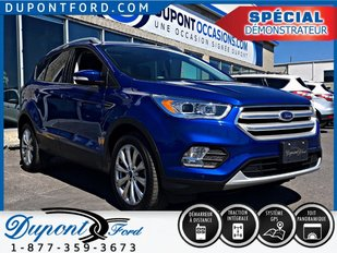 Ford ESCAPE AWD TITANIUM ÉLIGIBLE AUX MÊME PROGRAMME QUE LES VÉHICULESNEUFS 2018