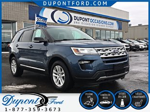 Ford EXPLORER 4WD XLT 3.5 - AWD -TOIT - GPS - GROUPE REMORQUAGE 2018