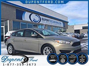 Ford FOCUS 5-DR SE 2015 TAUX A PARTIR A 2.9 % AVEC L'OPTION VOC 2015