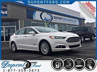 Ford FUSION HYBRID PLUG-IN TITANIUM - BRANCHABLE HYBRID - TOIT- GPS - CUIR - CAMÉRA 2014