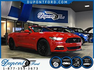 Ford MUSTANG CONVERTIBLE GT PREMIUM PDSF NEUF 61,548 TAUX A PARTIR A 2.9 % 2017