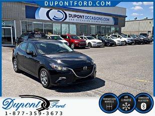 Mazda 3 GX-SKY - BAL.DE GAR. MAZDA KILOMÉTRAGE ILLIMITÉ 2015