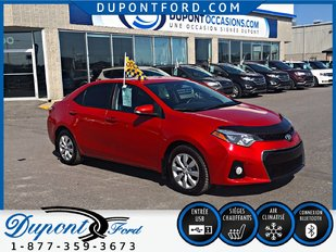 Toyota Corolla 4DR SDN AT CE--TAUX D'INTERET AVANTAGEUX- AIR COND 2015
