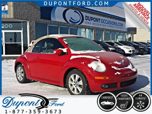 Volkswagen New Beetle CONVERTIBLE - JAMAIS ACCIDENTÉ - A-1 2010