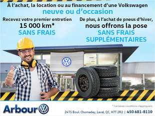 Offre d'entretien et de pneus