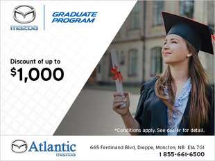 Graduation Special at Atlantic Mazda