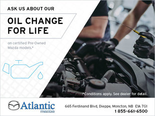 Oil Change for Life!