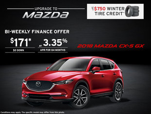 Get the 2018 Mazda CX-5 Today!