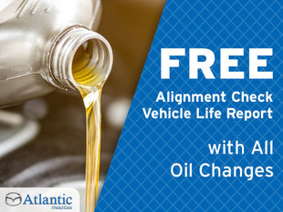 Free Alignment Check and Vehicle Life Report with All Oil Changes